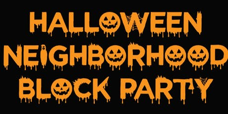 HALLOWEEN NAPA VALLEY NEIGHBORHOOD BLOCK PARTY tickets