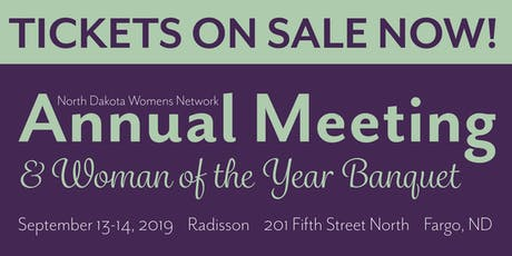 2019 NDWN Annual Meeting & Woman of the Year tickets