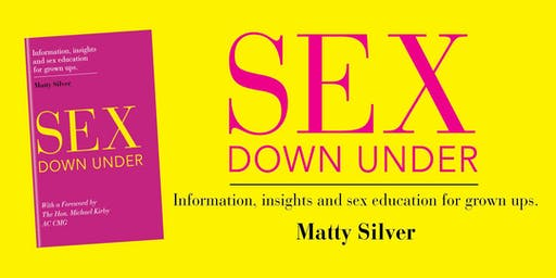 SEX Down Under - Book Launch with Matty Silver and the Hon. Michael Kirby AC CMG