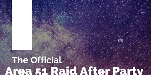 The Official Area 51 Raid After Party