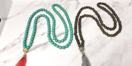 Jewelry Project Workshop: Make a Mala tickets