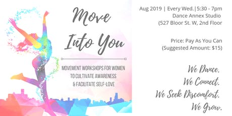 Move Into You - August 2019 Workshops tickets