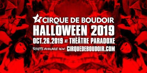 Cirque De Boudoir: Halloween 2019