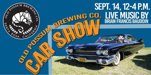 CAR SHOW & Live Music at Old Possum Brewing Co.