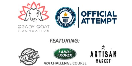 GOAT YOGA WORLD RECORD & ARTISAN FESTIVAL tickets