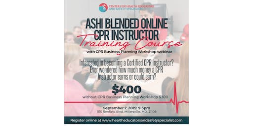 CPR Instructors Workshop with CPR Business Planning