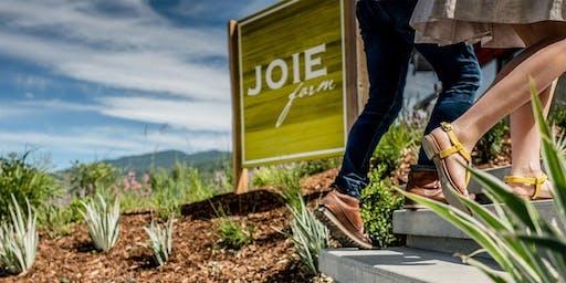 Joie Farm Wine Tasting