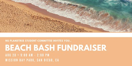 NU Planetree Student Committee: BEACH BASH FUNDRAISER tickets