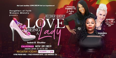 I LOVE BEING A LADY LUNCHEON tickets