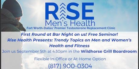 Robson Ranch Seminar: Men and Women's Health tickets