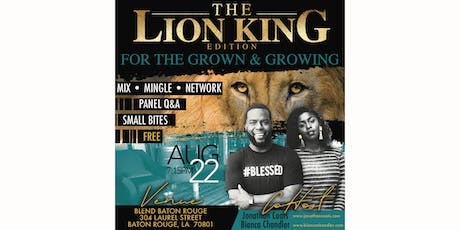 The Lion King Edition for the Grown & Growing tickets