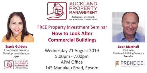 APM Seminar - How to Look After Commercial Buildings
