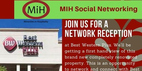 MiH Social Networking Reception tickets