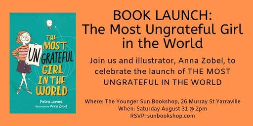 Book Launch: The Most Ungrateful Girl in the World