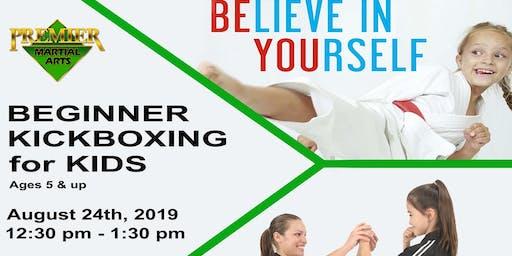 Beginner Kickboxing