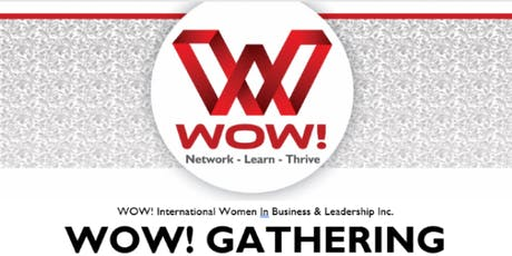 WOW! Women in Business & Leadership - Evening Mix & Mingle -Sylvan Lake Nov 5 tickets