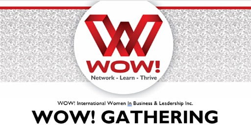 WOW! Women in Business & Leadership - Evening Mix & Mingle -Sylvan Lake May 5