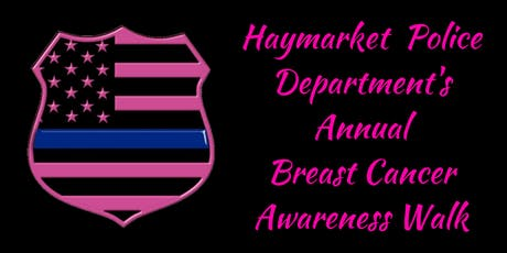 Haymarket Police Annual Breast Cancer Walk tickets