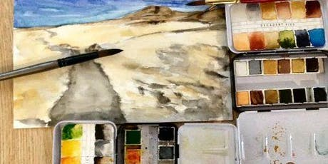Watercolor Exercises-Mondays Sept 2,9,16,23, 6:30-9pm tickets