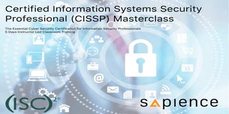 Certified Information Systems Security Professional Masterclass - Brunei (5 Days Instructor Led Classroom Training) tickets