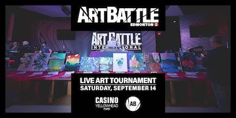 Art Battle Edmonton - September 14, 2019 tickets