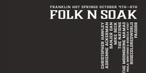2019 Fall Folk-n-Soak Music/Hot Springs/Yoga/Camping Festival