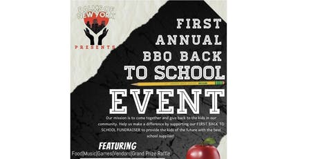 Palms of New York Presents:1st Back to School BBQ Fundraiser tickets