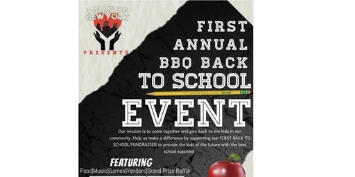 Palms of New York Presents:1st Back to School BBQ Fundraiser