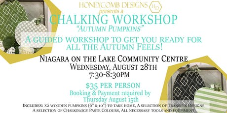 Chalking Workshop - August tickets