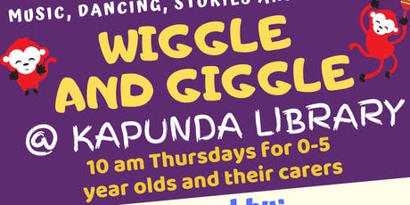 Term 3 Wiggle and Giggle Plus Playtime @ The Kapunda Library tickets