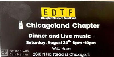EDTF Chicago land Chapter Dinner and live Music