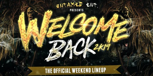 Welcome Back Weekend