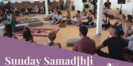 Sunday Samad[h]i at One Life Yoga tickets