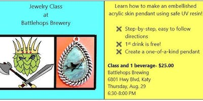 Jewelry Class at Battlehops Brewing