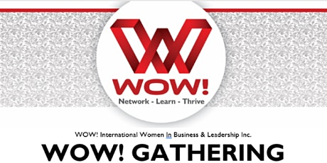 WOW! Women in Business & Leadership - Luncheon -Didsbury June 1 tickets