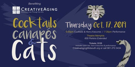 Creative Aging's Cocktails, Canapes & Cats tickets