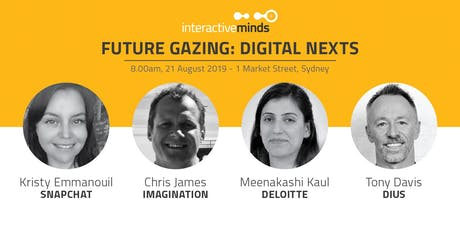 Digital Nexts: AI, AR, Automation & IoT with Snapchat, Imagination, Deloitte & DiUS  tickets