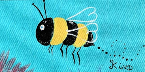 """Bee Kind"" Fundraising Paint Night for iMPACT Compassion Center"