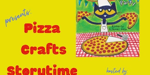 Pete the Cat Pizza Party and Storytime