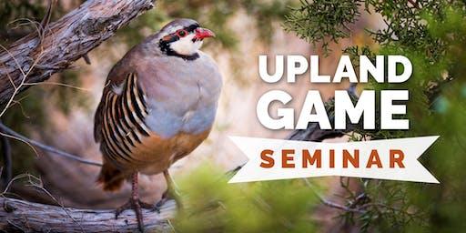 Upland Game Hunting Seminar