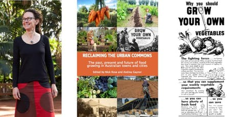 Reclaiming the Urban Commons with Andrea Gaynor tickets