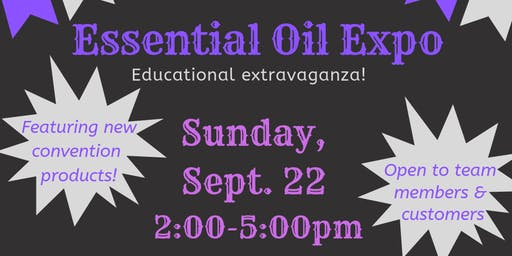 Essential Oil Expo