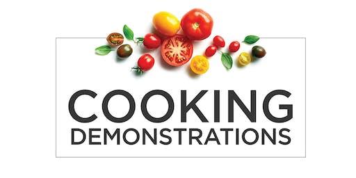AEG Mandarin Speaking Cooking Demo
