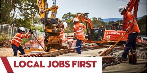 Local Jobs First Supplier Forum