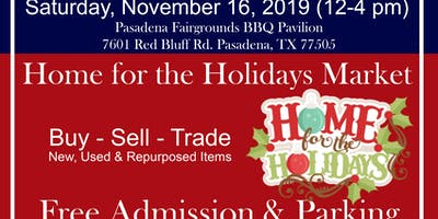 Home For The Holidays Market 2019: Pasadena Trade Days