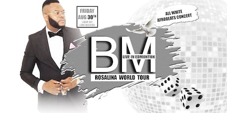 BM Live in Edmonton - All White Afrobeats Concert tickets
