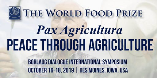 Press Registration - 2019 Borlaug Dialogue International Symposium