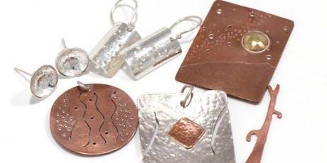 Silver Jewellery Classes- Jane Tadrist tickets