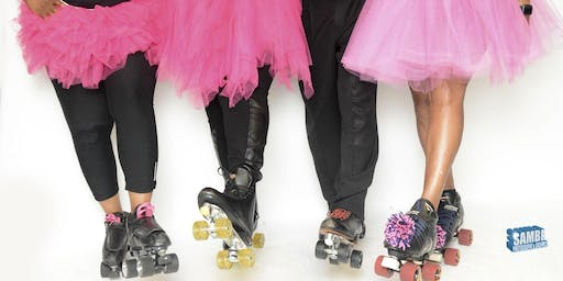 Pink Ties and Tutus Roll Bounce Cancer Awarness