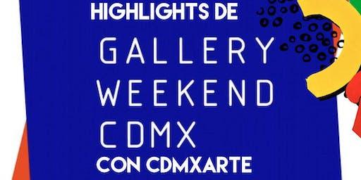 Gallery Weekend Highlights
